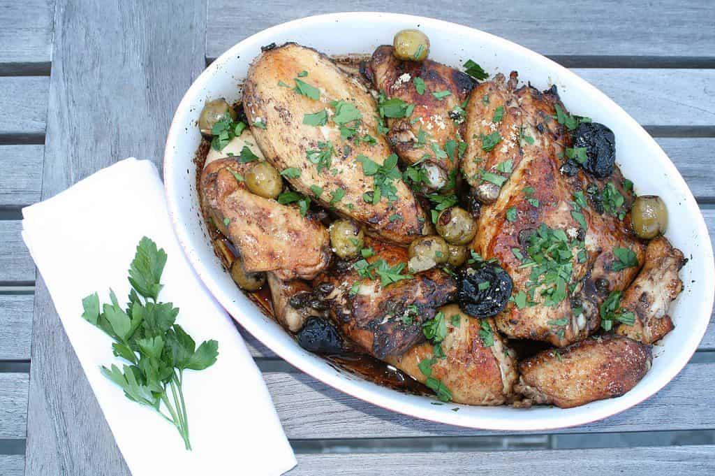 Chicken Marbella - Seasonal Cravings