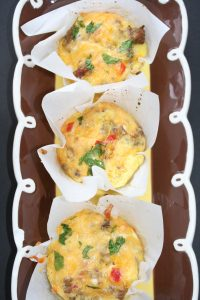 Mini Sausage and Egg Casseroles