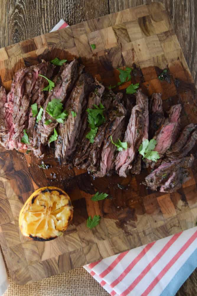 Herbed Skirt Steak - A Family Favorite (Gluten Free) - Seasonal ...