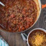 Easy Skinny Quinoa Chili