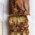 Chocolate Swirled Banana Bread