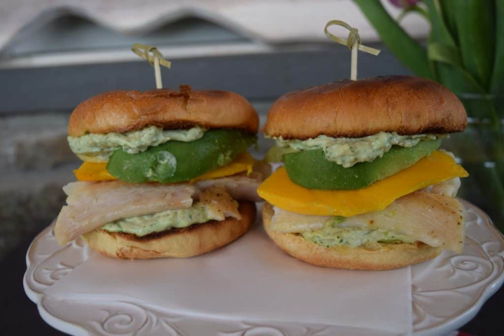 Halibut Sandwich With Cilantro Aioli