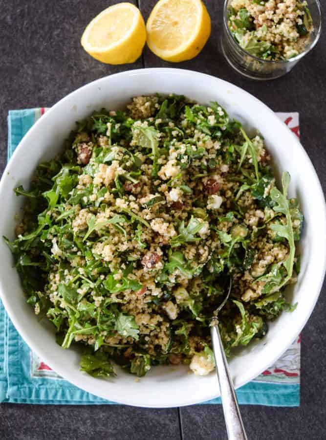 Eat Your Greens Quinoa Salad