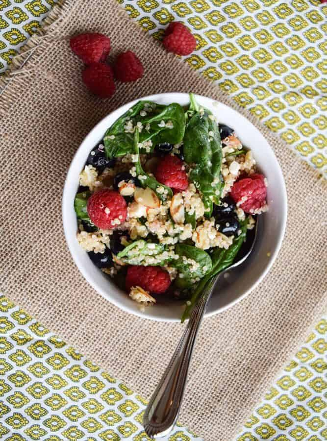 Summer Berry Power Salad