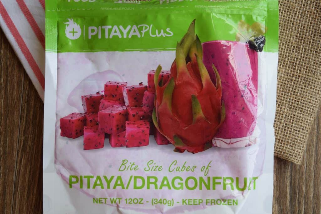 package of pitaya / dragonfruit