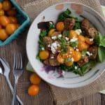 Sausage, Kale and Tomato Power Bowl