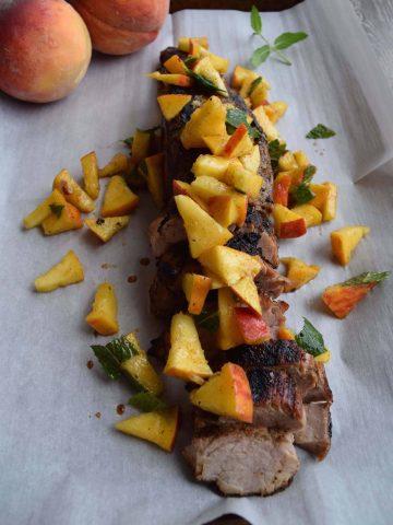 Easy Pork With Peaches