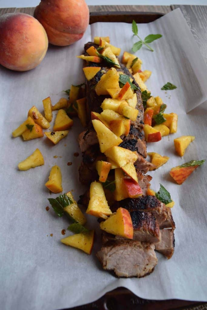 Easy Pork With Peaches