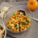 Yellow Tomato Pico De Gallo
