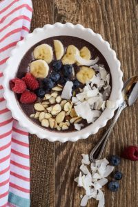 super food Acai bowl