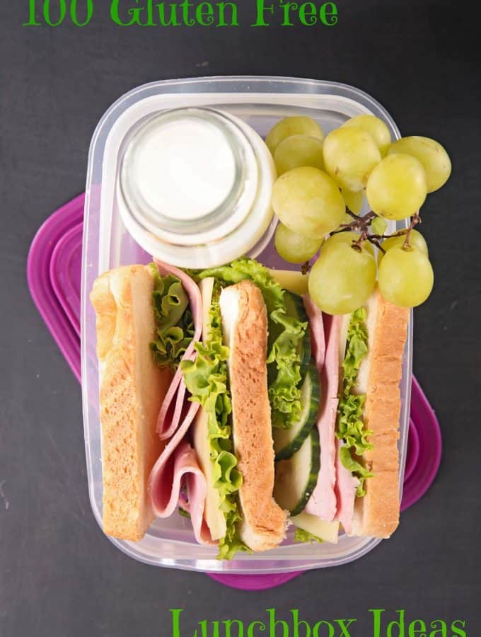 100 Gluten Free Lunchbox Ideas