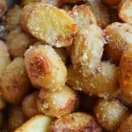 Teeny Tiny Roasted Potatoes