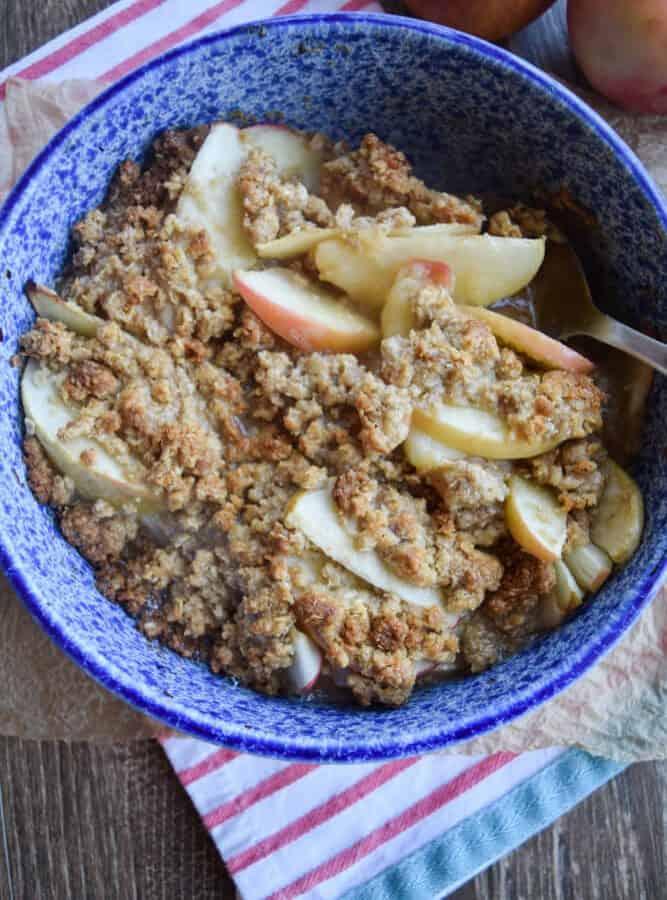 Apple Crisp – Gluten Free