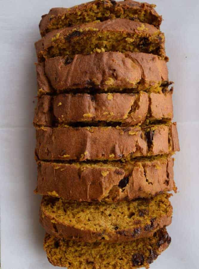 The Best Gluten Free Pumpkin Bread