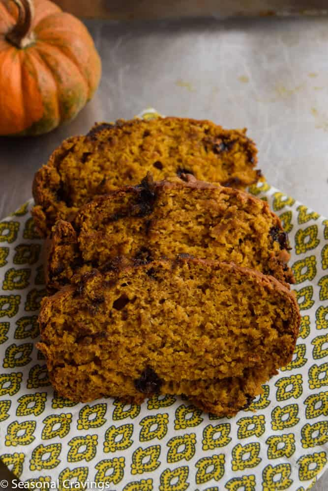 Gluten Free Pumpkin Bread | seasonalcravings.com