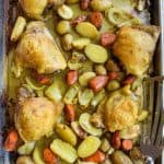 Sheet Pan Chicken With Turmeric