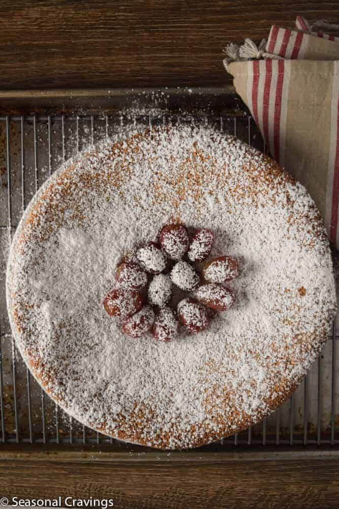 Almond Flour Cake | seasonalcravings.com