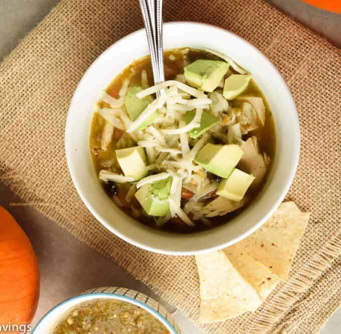 Salsa Verde Chicken Soup and 14 Ways to use Salsa Verde