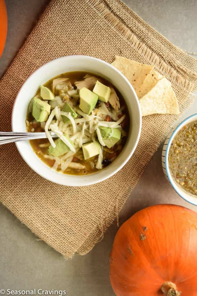 Chicken Soup With Salsa Verde