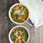 Tuscan Chickpea Soup with Kale