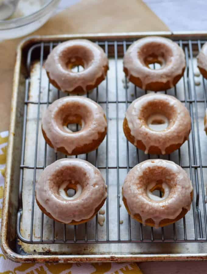 Easy Gluten Free Pumpkin Doughnuts