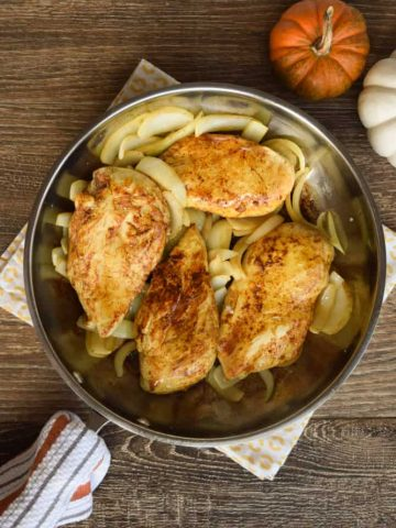 Easy Four Ingredient Moroccan Chicken