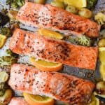 Sticky Maple Salmon