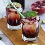 Easy Pomegranate Mojito