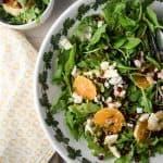 Arugula, Orange and Pomegranate Salad