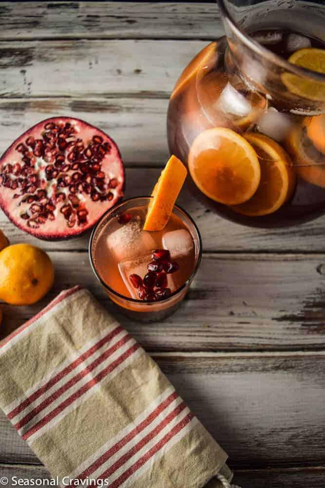 Pomegranate Orange Sangria