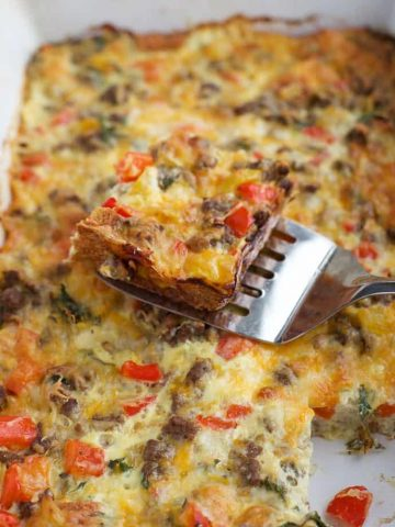 Never Fail Sausage and Egg Casserole
