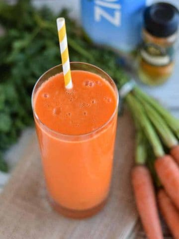 Carrot and Apple Smoothie