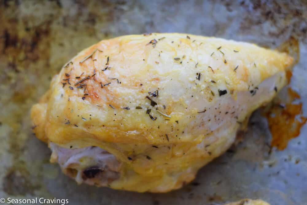 oven roasted chicken breast with herbs