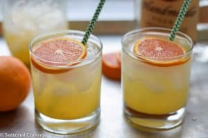 Orange and Limoncello Cocktail