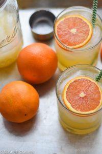 Orange and Limoncello Cocktail