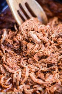 Three Ingredient Pulled Pork Barbeque