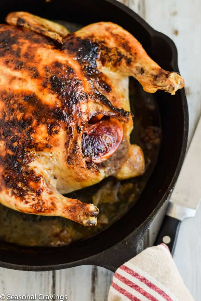 Blood Orange Roast Chicken |seasonalcravings.com