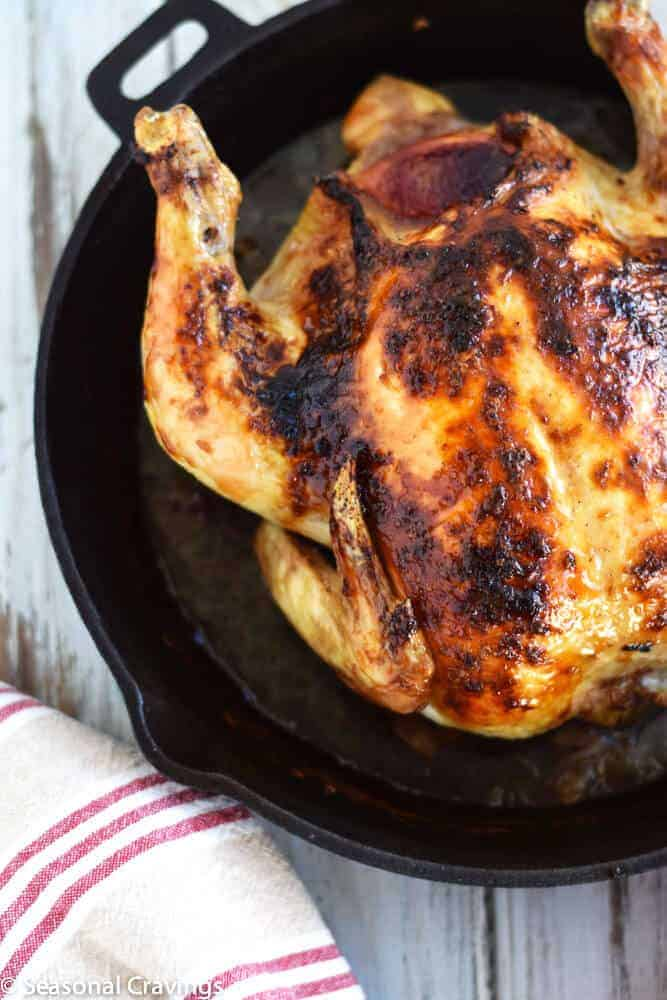 Blood Orange Roast Chicken | seasonalcravings.com