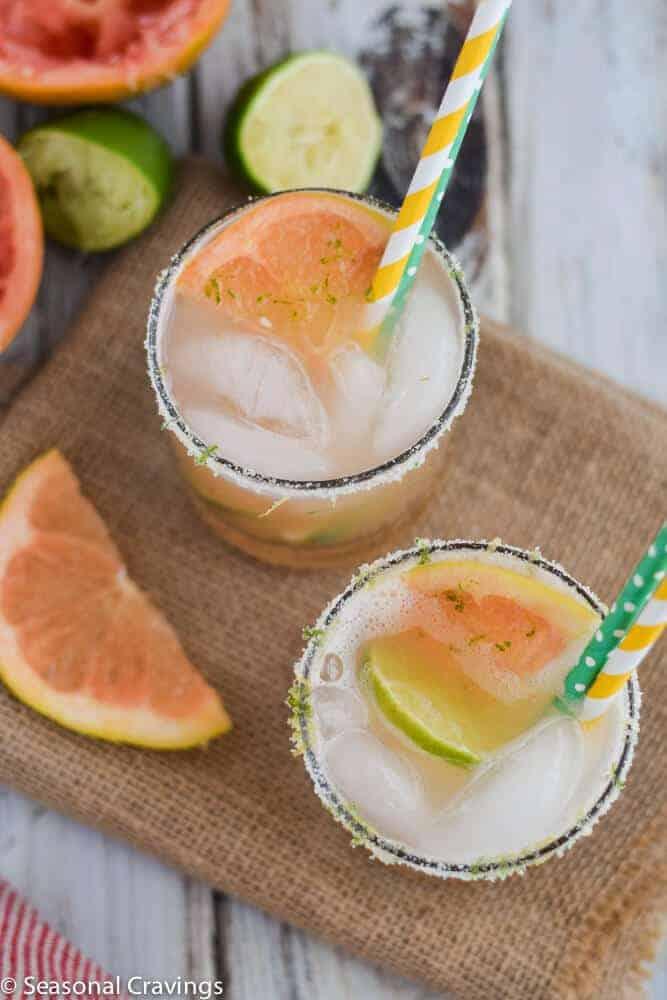 Sweet Grapefruit Margarita