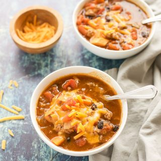 Healthy Turkey Chili - gluten free