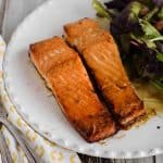 Easy Honey Salmon