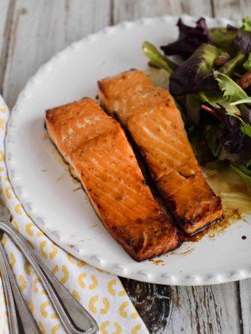 Easy Honey Salmon