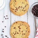 Gluten Free Single Serve Chocolate Chip Cookie