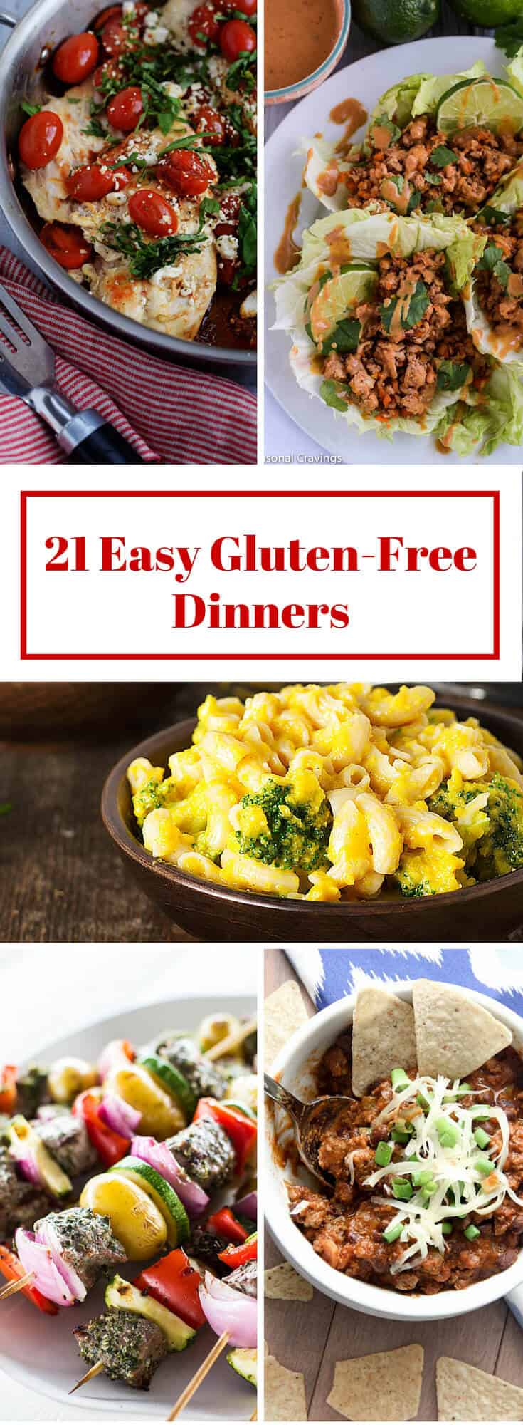 21 Easy Gluten Free Dinners