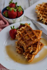 Gluten Free Waffles with Yeast