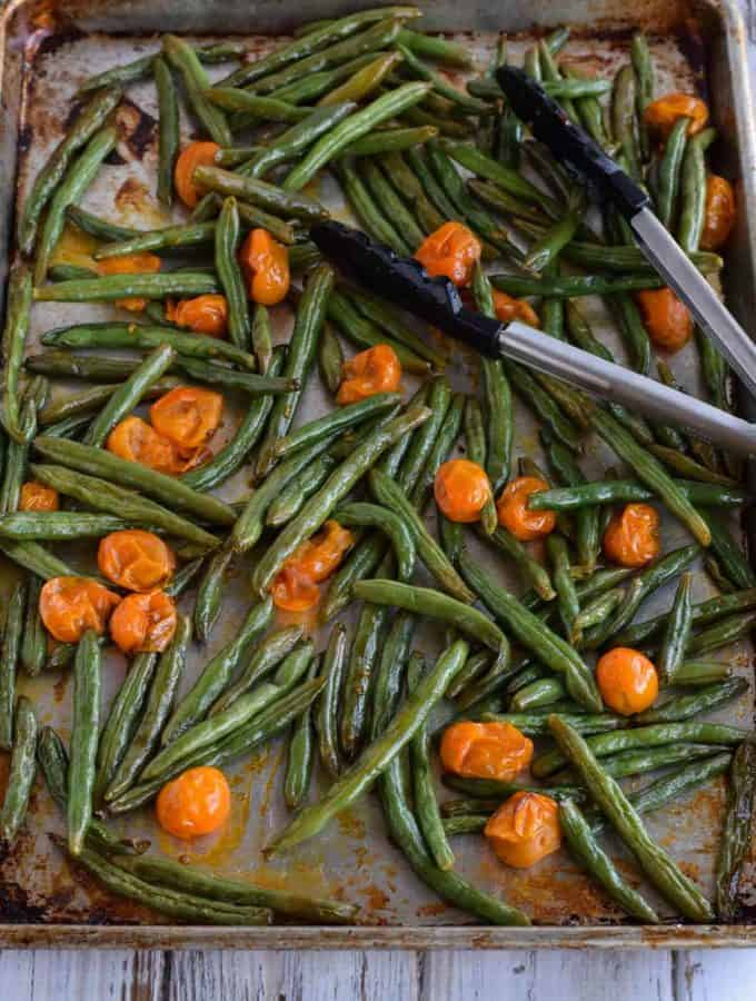 Green Beans with Tomatoes