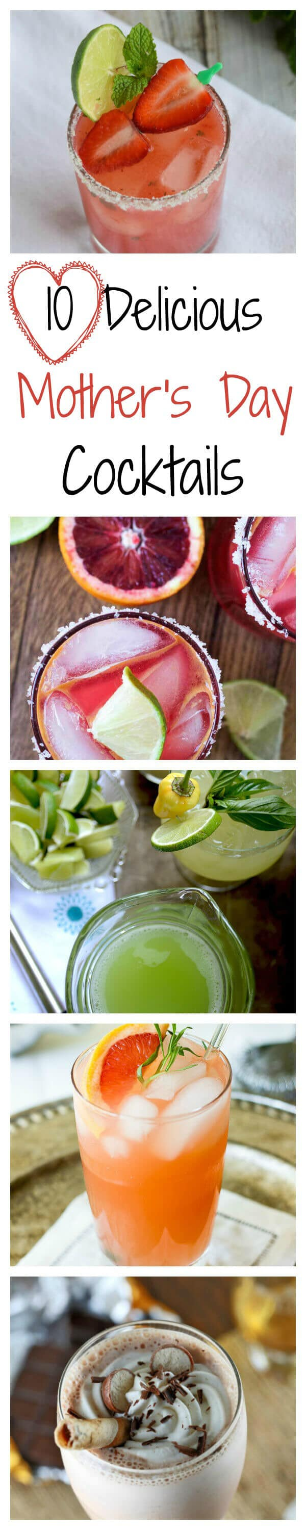 10 Delicious Mother's Day Cocktails