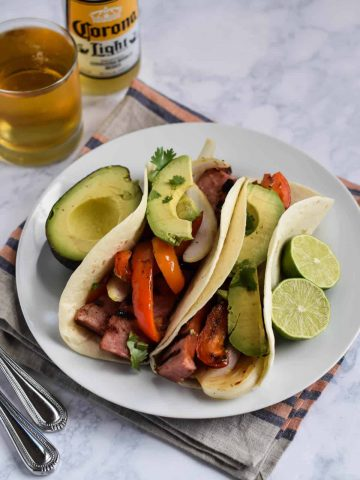 Grilled Sausage Tacos