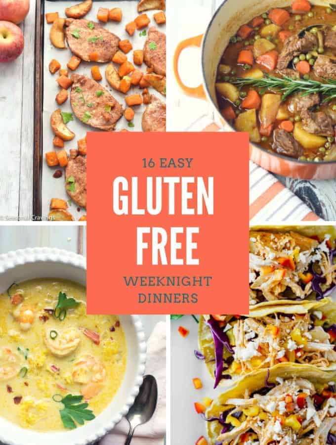16 Easy Gluten Free Weeknight Dinners