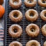 Gluten Free Apple Cider Doughnuts